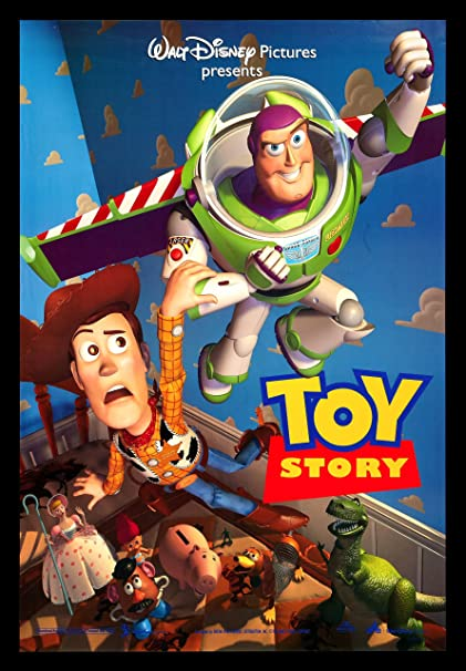Toy Story 1995 Movie Poster 24quot