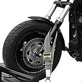 Tank Straps Motorcycle Tie Down Straps (2pk) - 10.000 lb Webbing Break Strength 2'' x 10' Super Heavy Duty Endless Tie Downs with Ratchet Strap - Stro