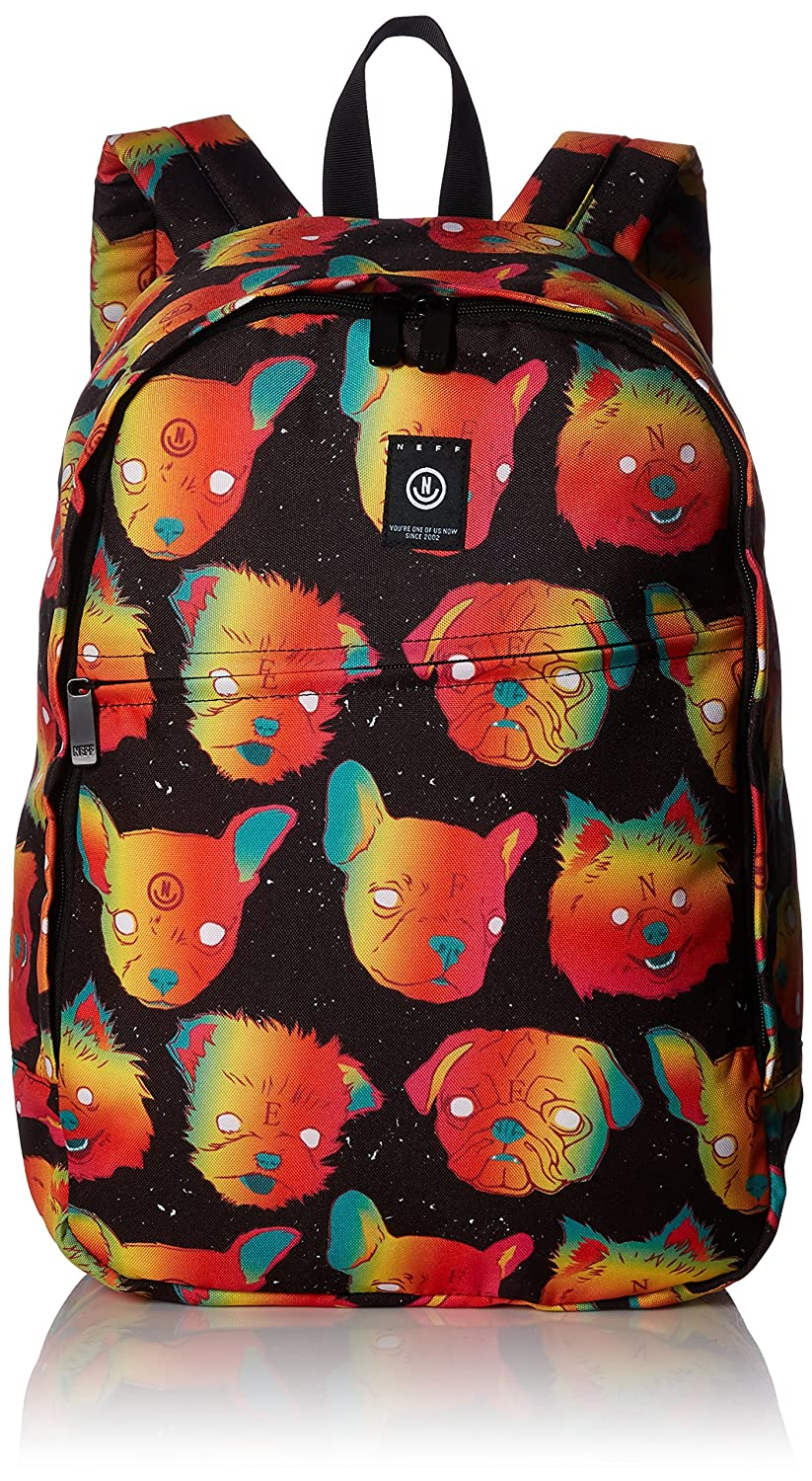 Amazon.com: neff Mens Daily Backpack-Affordable, Laptop Sleeve, School Bag, k Nine, One Size: Clothing