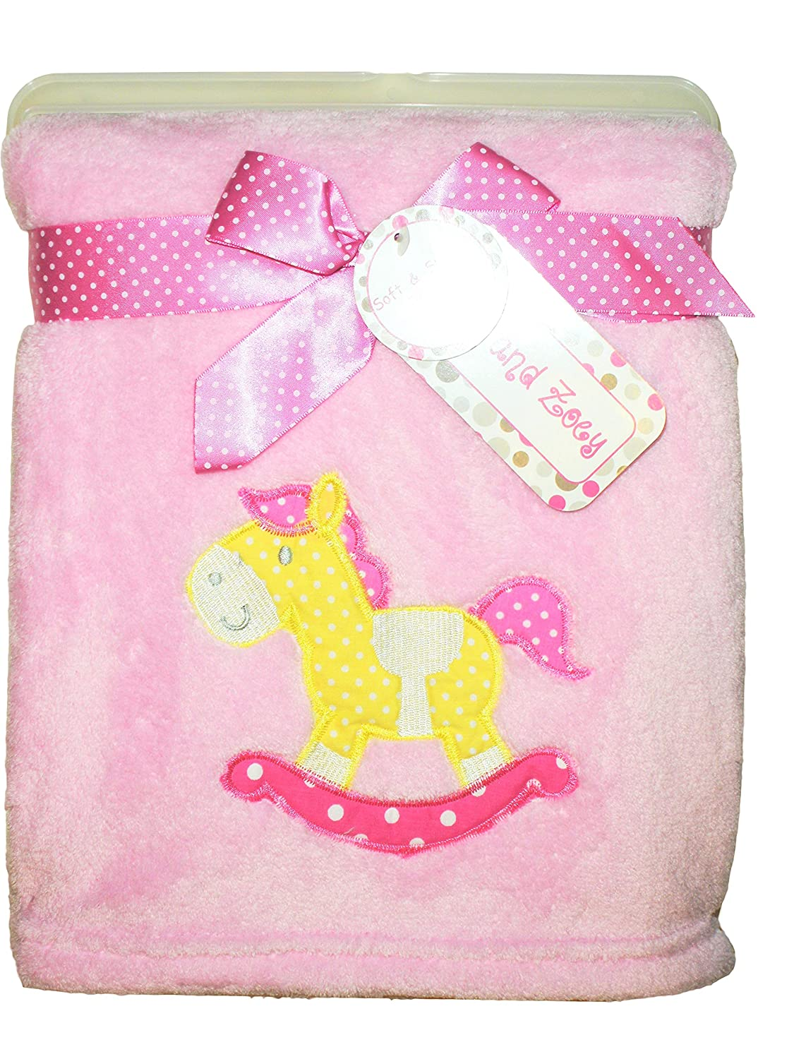 "Zak and Zoey Soft /& Snuggly Baby Blanket Pink /& Grey Arrows 30/"" x 40/"" NEW!"