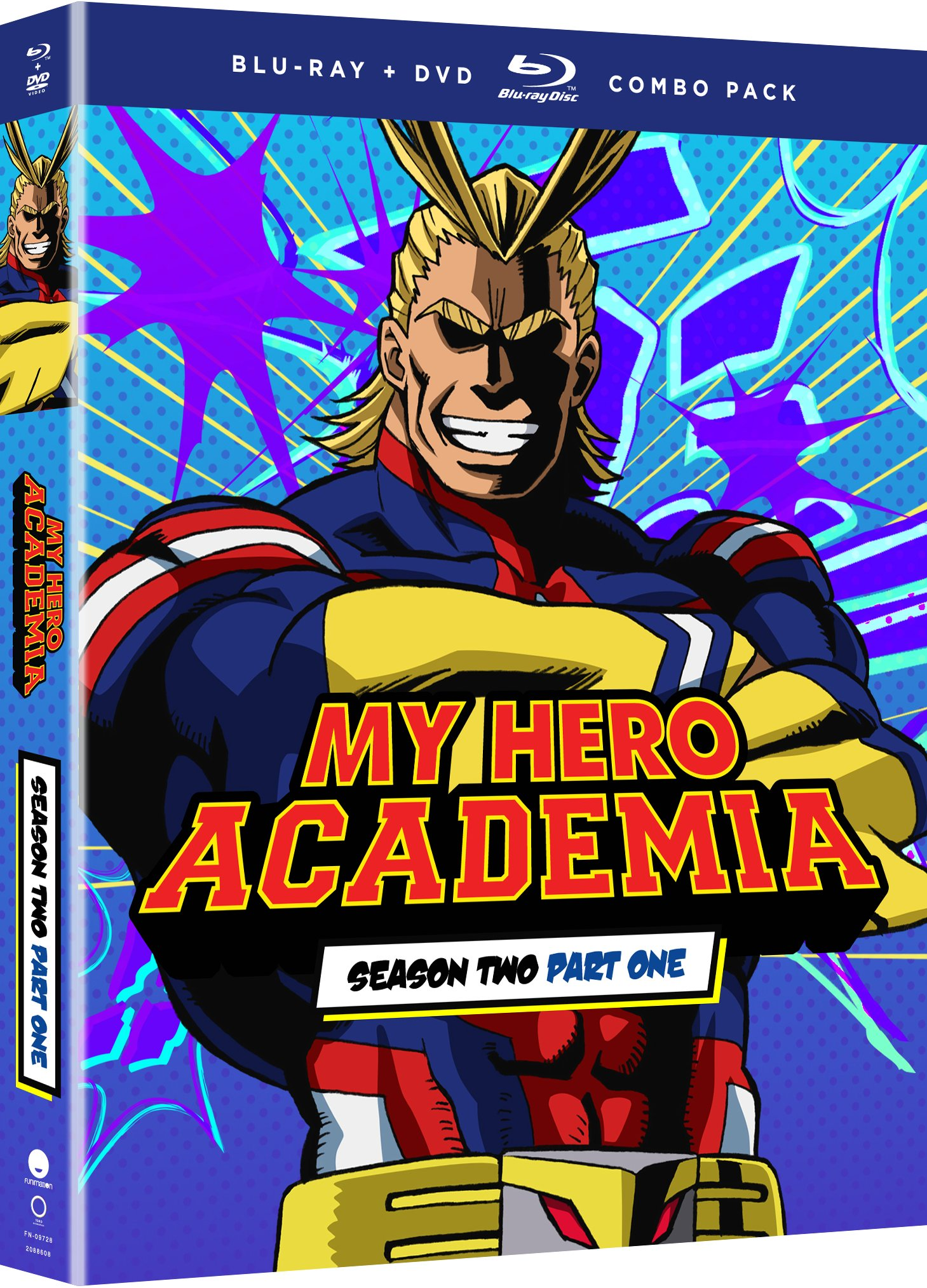 Blu-ray : My Hero Academia: Season Two - Part One (With DVD, Boxed Set, 4PC)