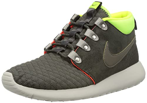 nike roshe run sneakerboot mens hi top trainers 615601 007 sneakers shoes ( uk 7 us