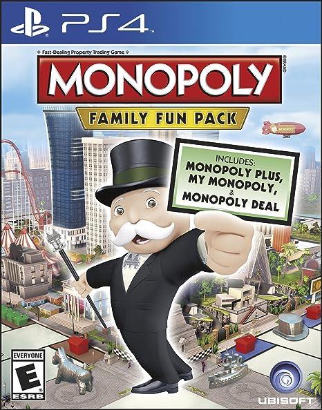 Ubisoft Monopoly Family Fun Pack, PS4 - Juego (PS4, PlayStation 4, Familia, E (para todos)): Amazon.es: Videojuegos