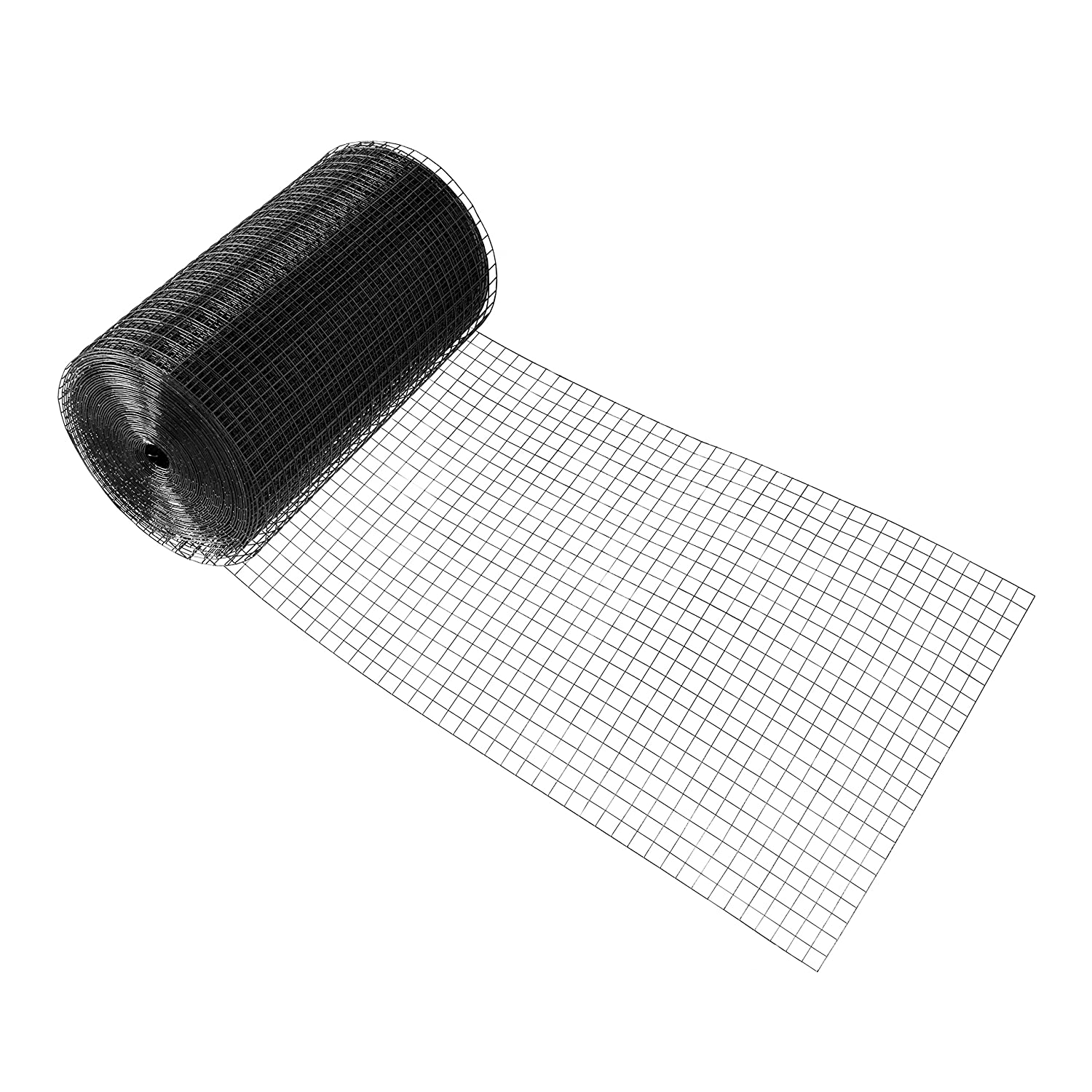 Amazon.com: Fencer Wire 16 Gauge Black Vinyl Coated Welded Wire Mesh ...