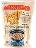 Pop I.Q. Sea Salt & Pepper Lite – The Best Healthy Snack – Air Popped Organic Sorghum Grain – Non-GMO, Vegan, Gluten…