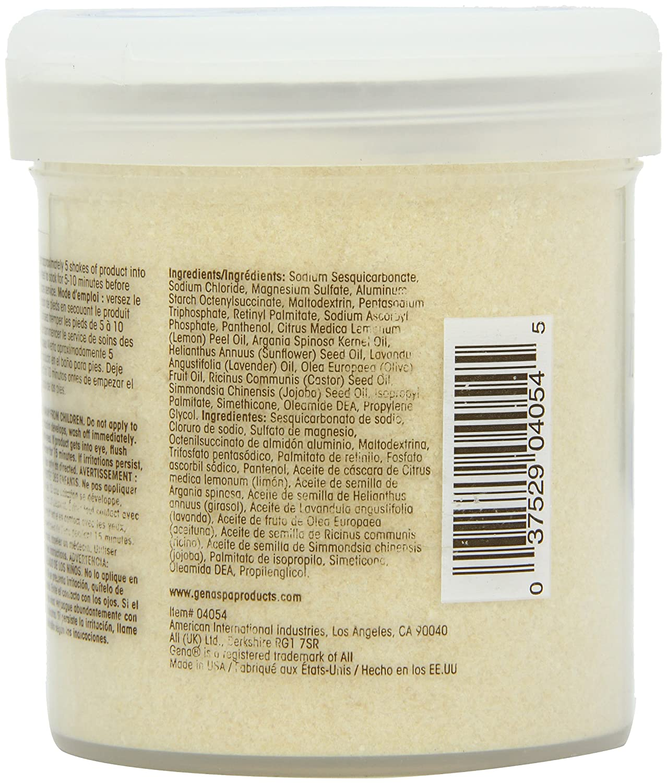 Amazon.com: Gena Pedi Spa with Argan Oil Complex Pedi Spa Soak, 14 Ounce: Beauty