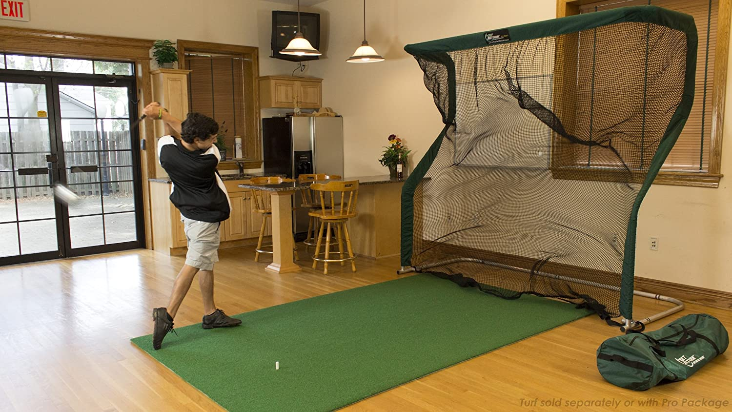 golf cage indoor