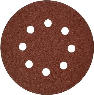8-Hole Hook /& Loop Sanding Discs by Bosch /& 240 Assorted Grits 120 Bosch SR5R000 5 60