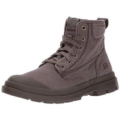 Skechers Men's Milton Lace Ankle Bootie   Shoes