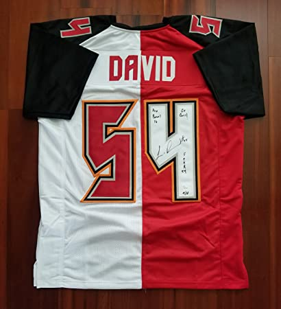 150c23ab428 Image Unavailable. Image not available for. Color  Lavonte David  Autographed Signed Jersey Limited Edition 9 of 10 Tampa Bay Buccaneers JSA