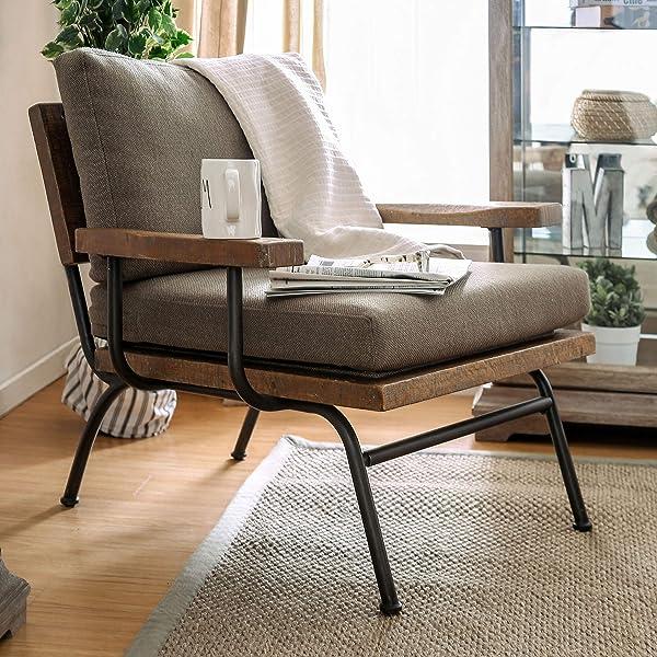 HOMES: Inside + Out IDF-AC6077 Yenitt Accent Chair