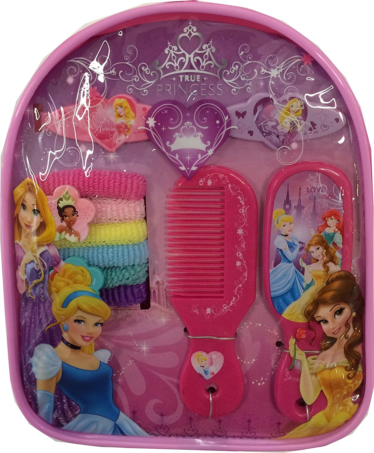 Princess Backpack With Assorted Hair Accessories B00GS69WYU