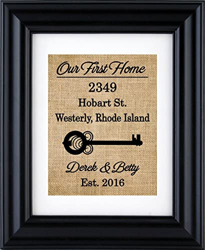 aa12a5c008613 Image Unavailable. Image not available for. Color  Our First Home Sign ...