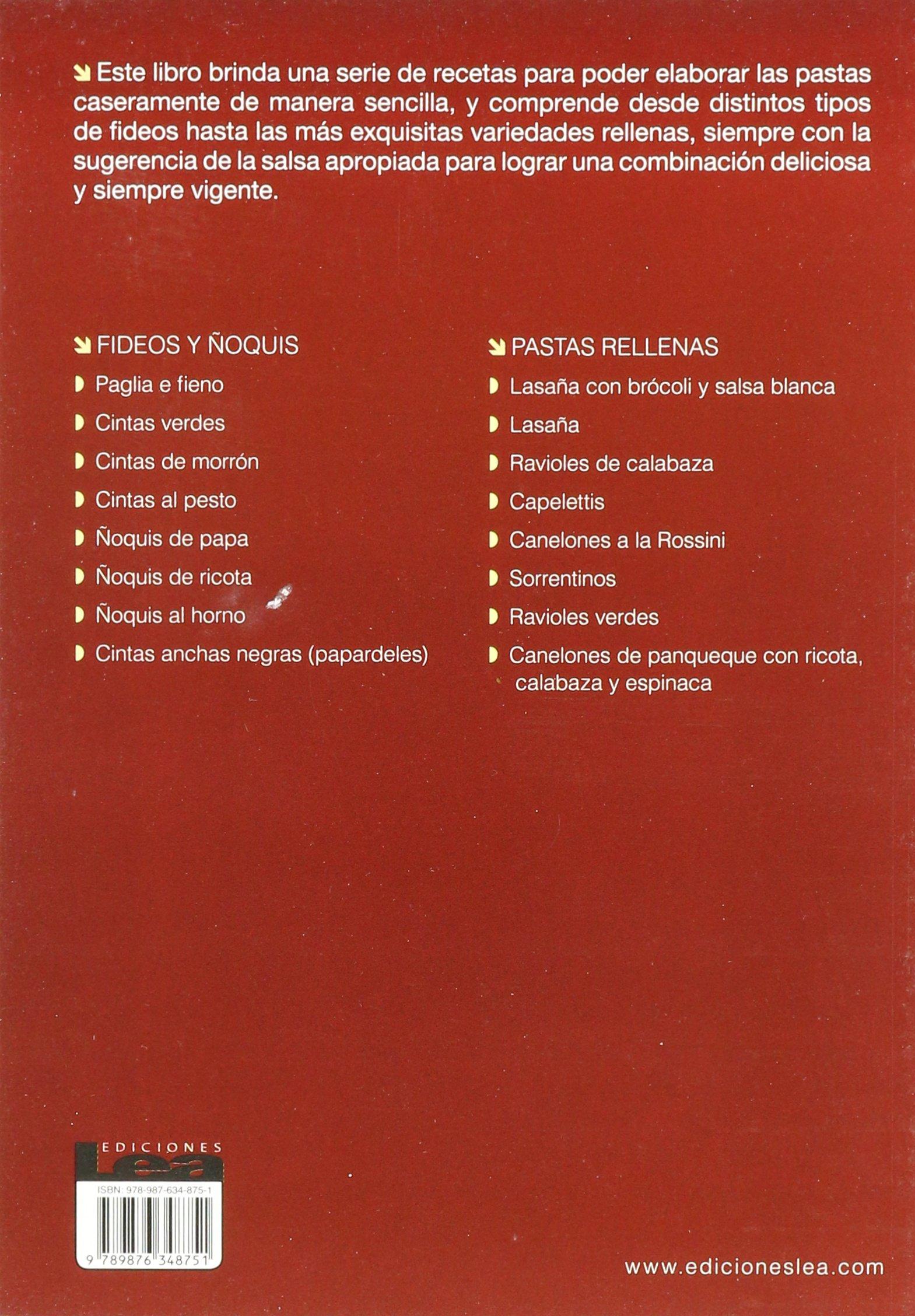 Amazon.com: Los secretos de la pasta hecha en casa (Spanish Edition) (9789876348751): Mónica Ponttiroli: Books