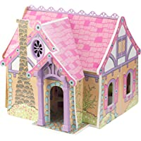 KidKraft Wooden Enchanted Forest Dollhouse with 16-Piece Accessories
