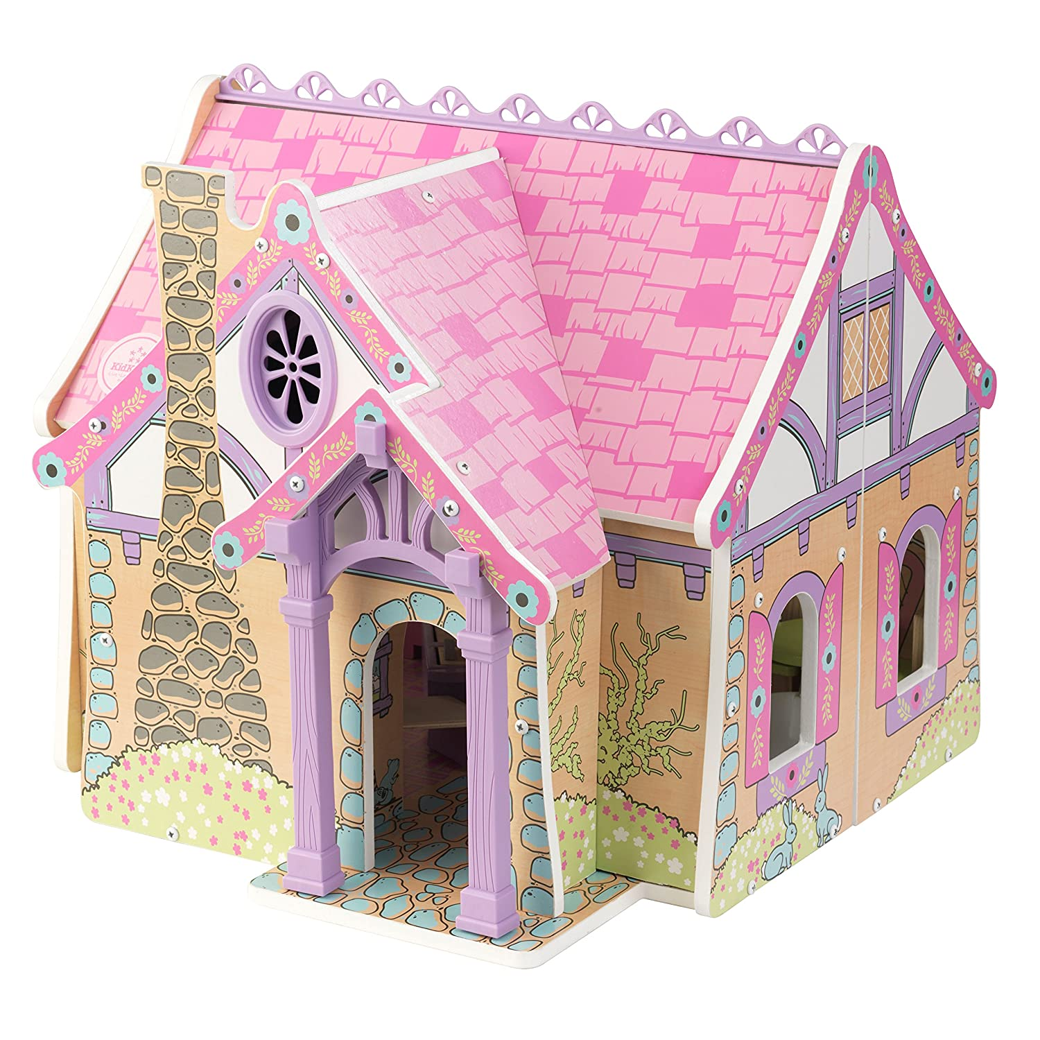 Amazon.com: KidKraft Enchanted Forest Dollhouse Doll: Toys & Games