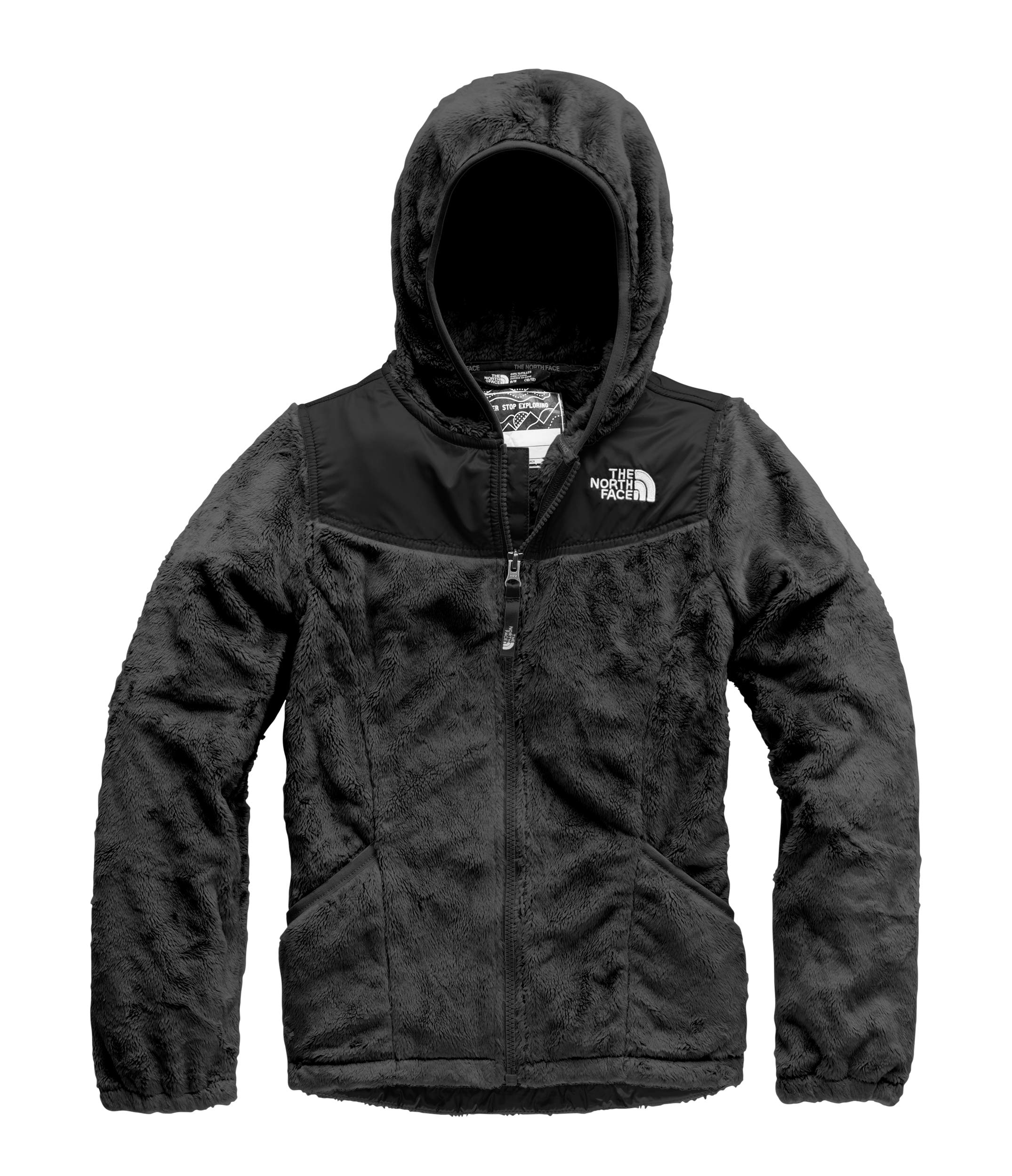 The North Face Kids Girl's OSO Hoodie (Little Kids/Big Kids) TNF Black Large