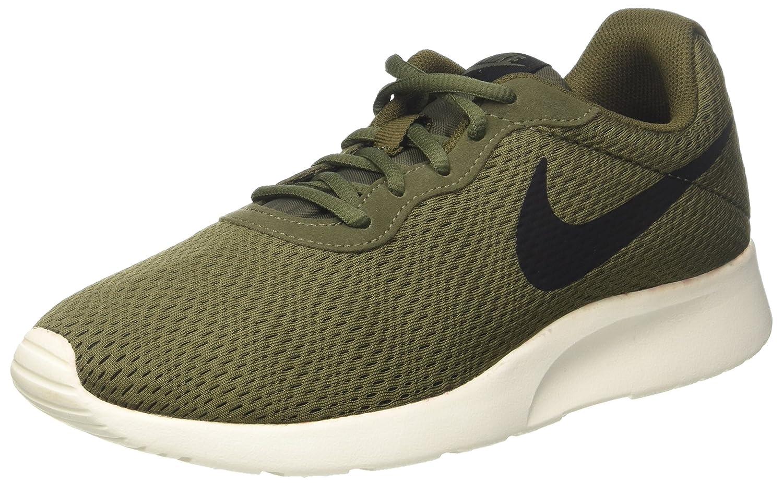 Nike Tanjun Se, Zapatillas de Trail Running para Hombre 42.5 EU|Verde (Cargo Khaki/Black/Sail)