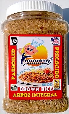 Yummmy Brown Rice Wholegrain Parboiled, 3.5 lb. (56 oz)
