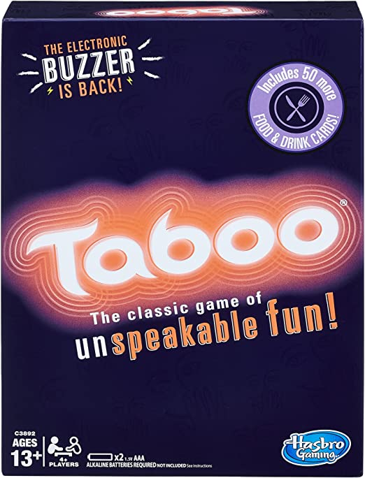 Celebrity Taboo 1991 edition replacement game piece qty 50 cards