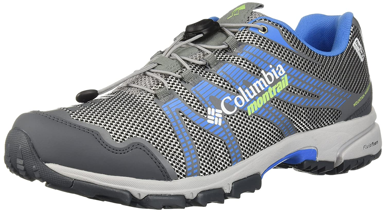 Columbia Montrail Women's Mountain Masochist IV Outdry Trail Running Shoe B072WFVFXG 9.5 B(M) US|Steam, Jade Lime