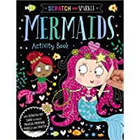 Mermaids Activity Book (Scratch and Sparkle)