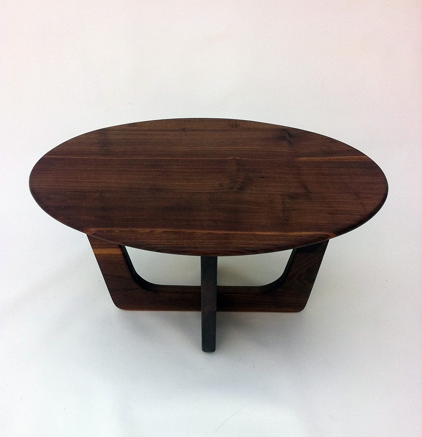Amazon Mid Century Modern Coffee Table 20x30 Oval Cocktail