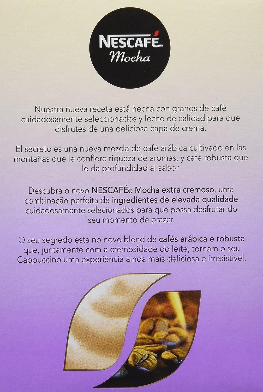NESCAFÉ Café Mocha |Caja de sobres|6 Paquetes de 8x18g de café - Total: 864g: Amazon.es: Alimentación y bebidas