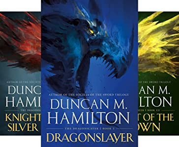 Dragonslayer by Duncan M. Hamilton science fiction and fantasy book and audiobook reviews
