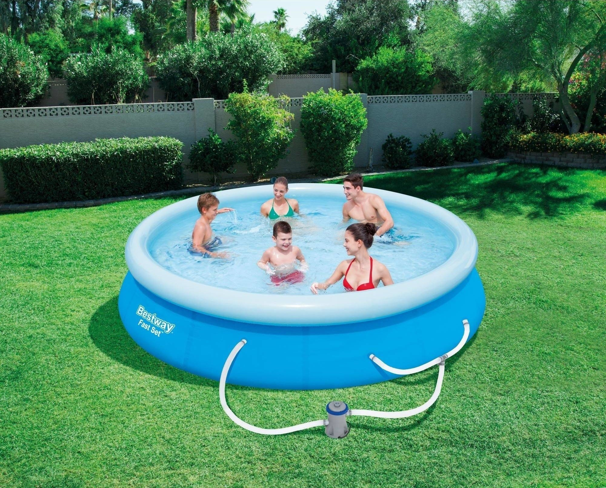 Bestway's Fast Swimming Pool Set 12' x 30'' with Filter Pump by Bestway'sFast