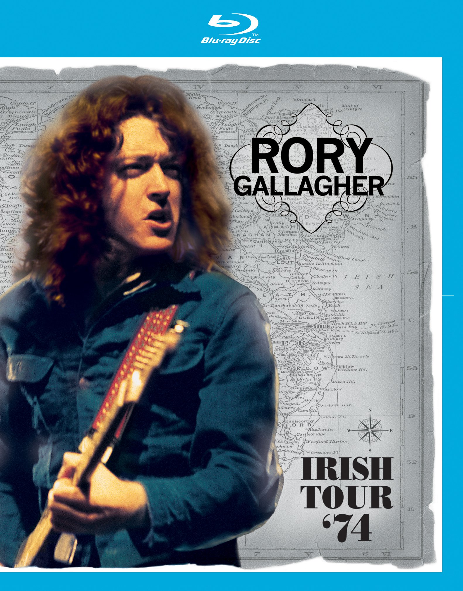 Blu-ray : Rory Gallagher - Irish Tour 74