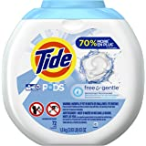 Tide PODS Free & Gentle HE Turbo Laundry Detergent Pacs 72-load Tub