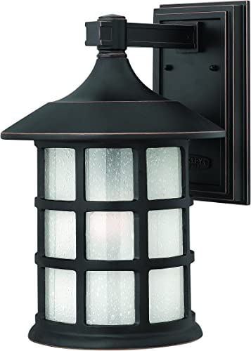 Hinkley 1805OP Traditional One Light Wall Mount from Freeport collection in Bronze Darkfinish,