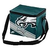 Philadelphia Eagles Big Logo Stripe 6 Pack Cooler