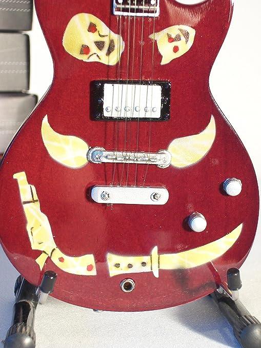 Guitarra Miniatura ZEMAITIS Macabre Keith Richards Rolling Stones ...
