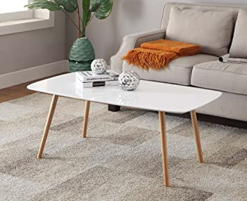 Convenience Concepts Oslo Coffee Table White