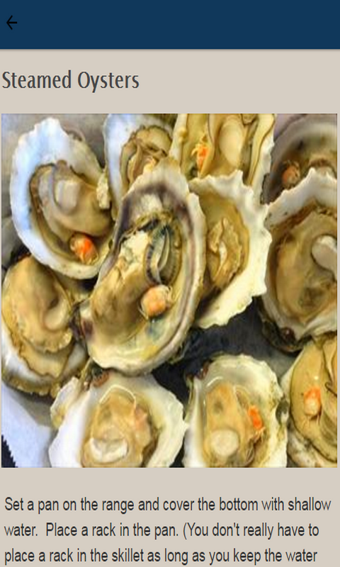 how to cook steamed oysters