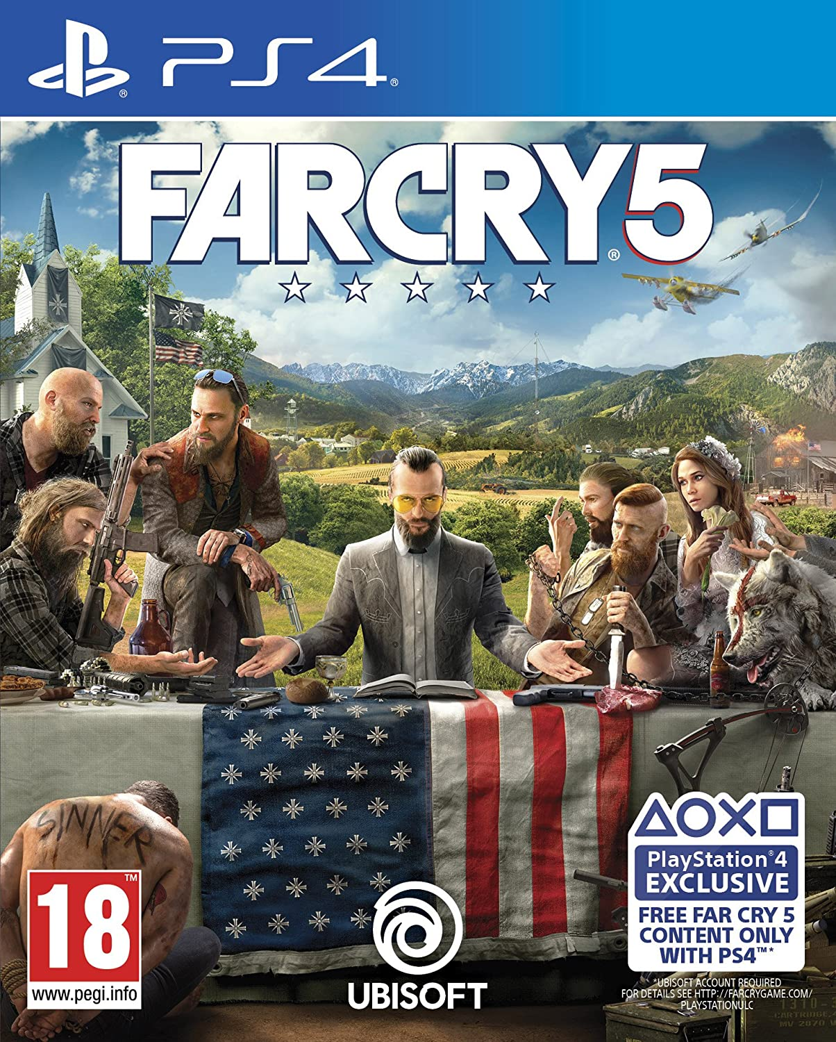 Far Cry 5 Ps4 Amazon Co Uk Pc Video Games