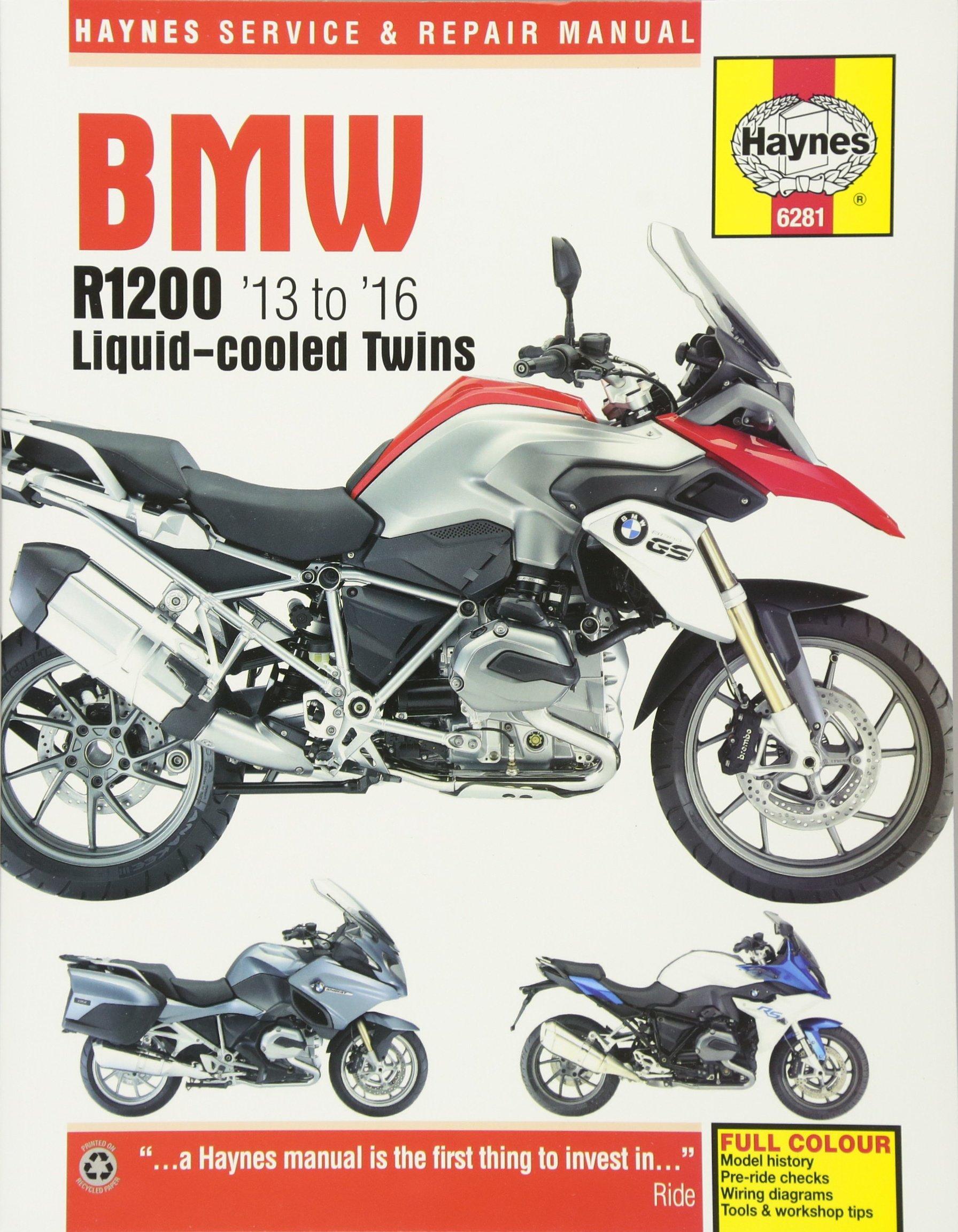 BMW R1200 '13 to '16 Liquid-cooled Twins (Haynes Service & Repair Manual):  Editors of Haynes Manuals: 5060385961919: Amazon.com: Books