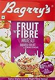 Bagrry's Fruit and Fibre Muesli, Mixed Fruit, 500g