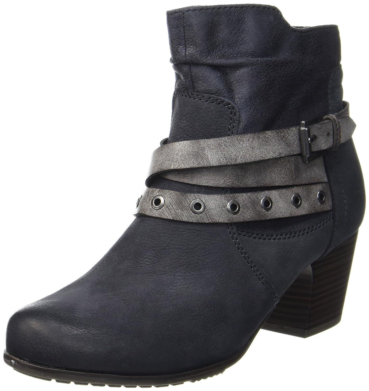 Blau (Navy) Jana Damen 25330 Stiefel