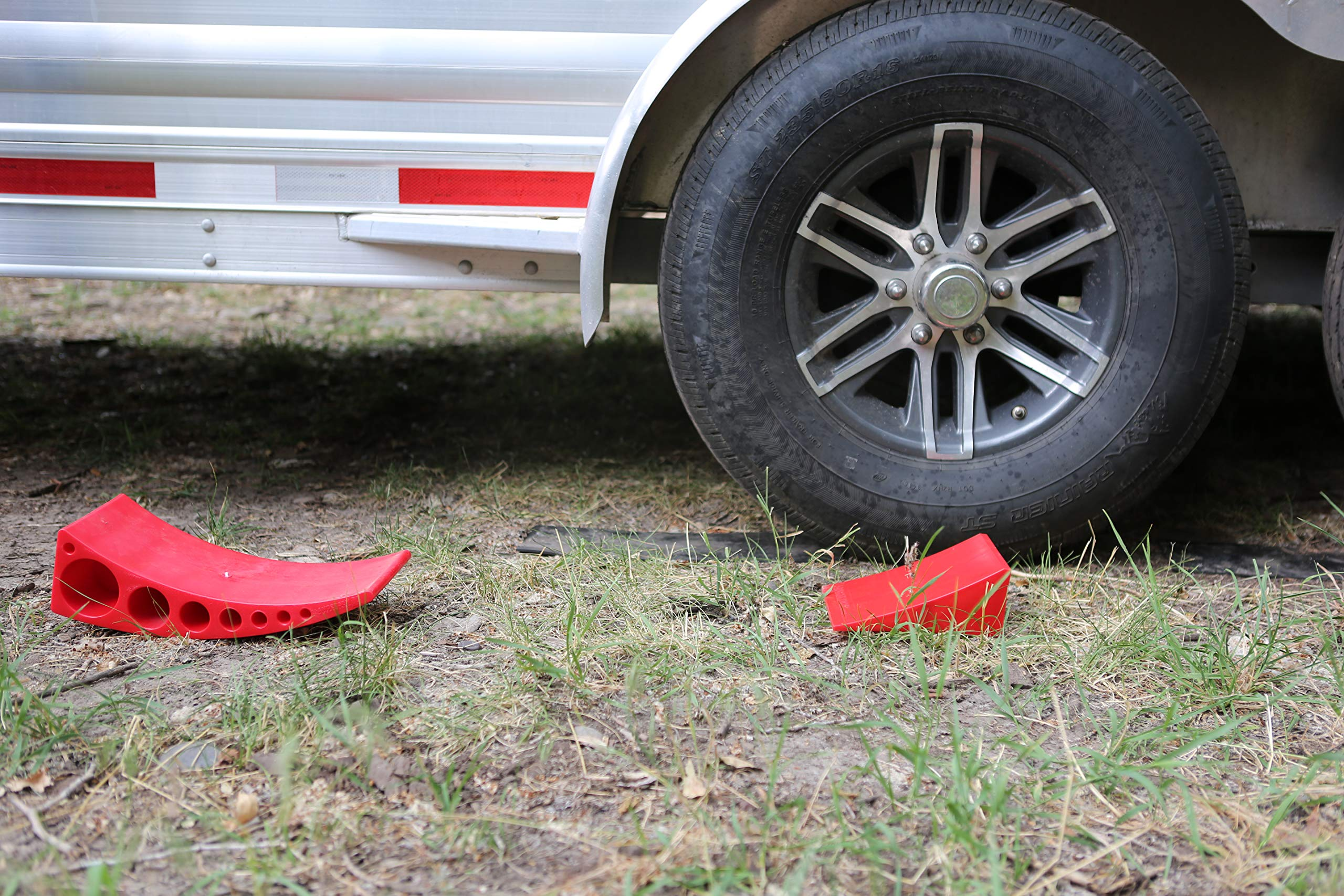 Andersen Hitches Camper Leveler 3604 + Rubber Mat | Easy Drive-On Camper Leveling | Less Than 5 Minutes to Level Your Camper, Trailer, RV, Motorhome | Faster, Easier Than RV Leveling Blocks by Andersen Hitches (Image #3)