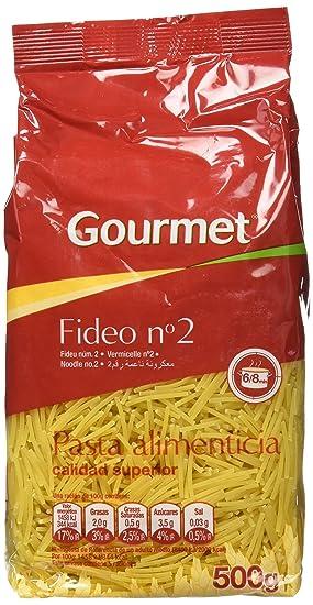 Gourmet - Fideo No.2 - Pasta alimentacia calidad superior - 500 g - [