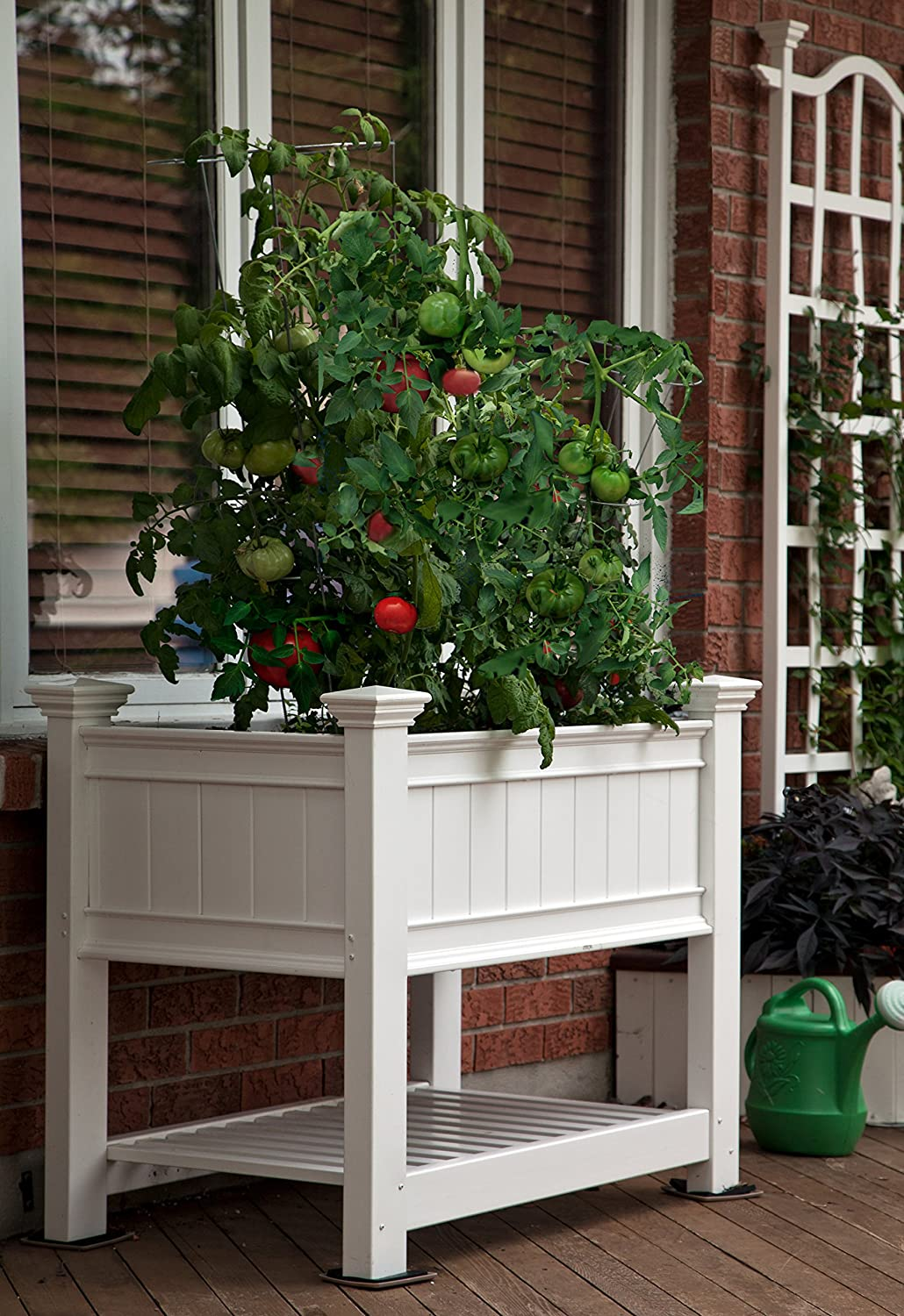 "Cambridge 36""W x 24""L Vinyl Raised Planter"