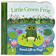 Little Green Frog: Lift-a-Flap Board Book (Babies Love)