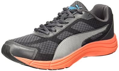 e9a78c5b7028b Puma Men's Expedite Idp Asphalt-Black-Red Blast-Silver Running Shoes