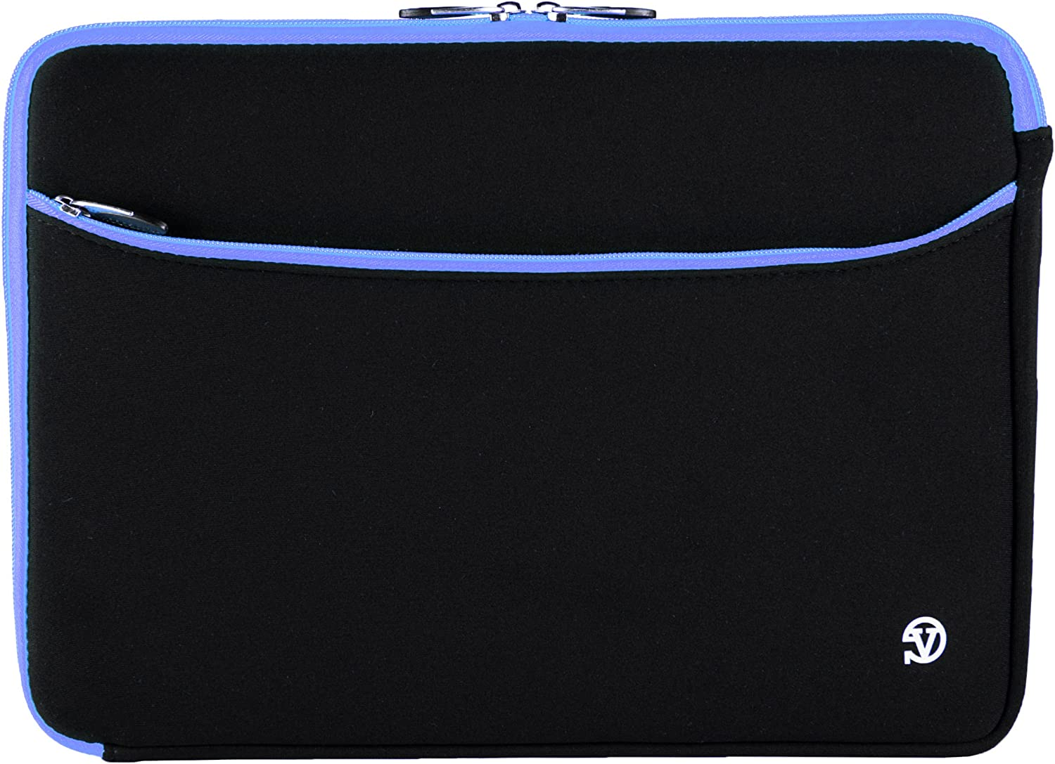 17.3 Inch Laptop Sleeve Pouch Carrying Case Tablet Cover for HP Envy 17, Omen 17t, ProBook, Lenovo IdeaPad, ThinkPad, MSI GL72M, Razer Blade Pro, Black, Blue