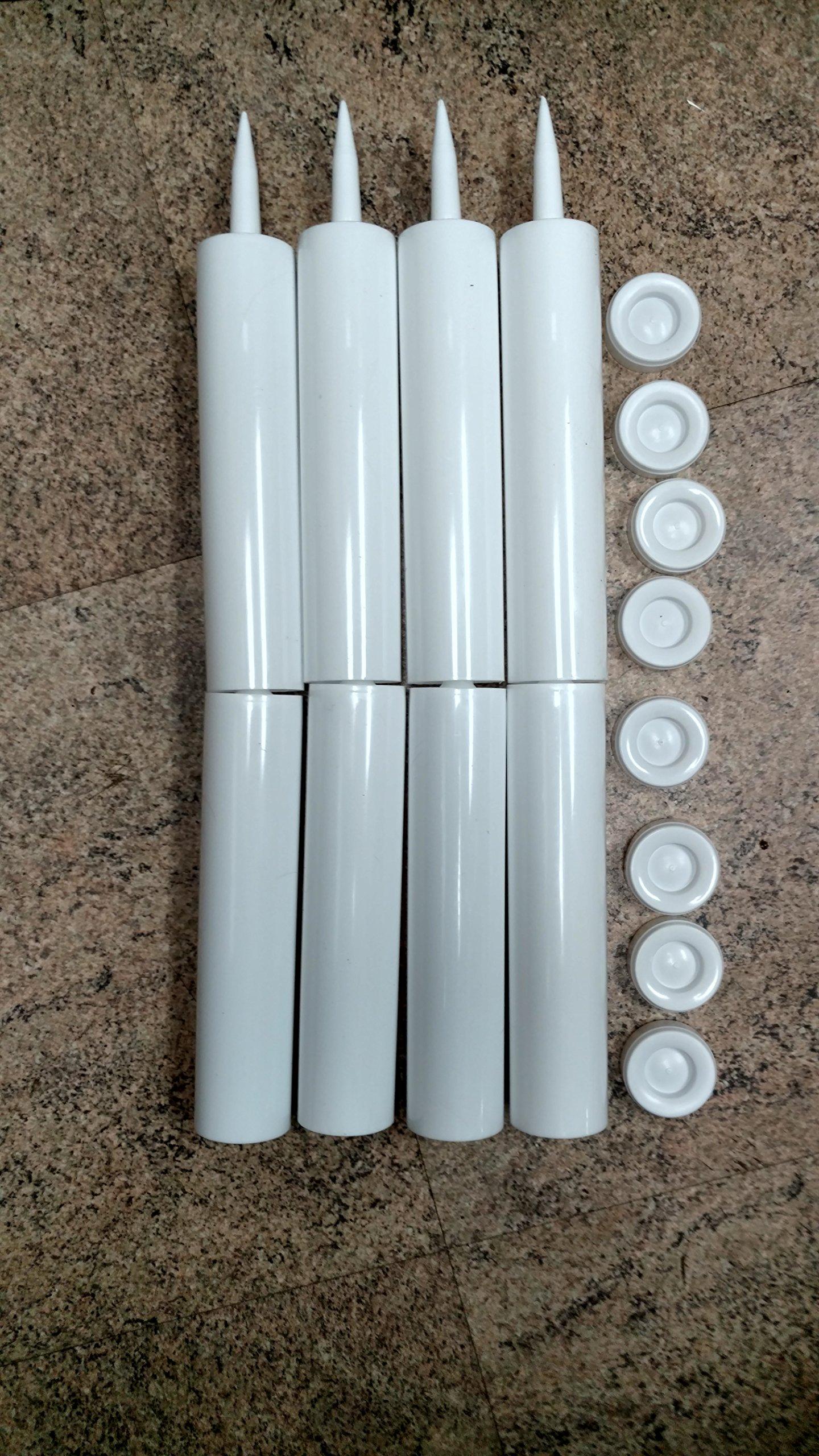 8 Empty Caulk Tube - Cartridge - Made in USA