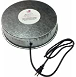 Farm Innovators Model HP-125 Heated Base For Metal Poultry Founts, 125-Watt