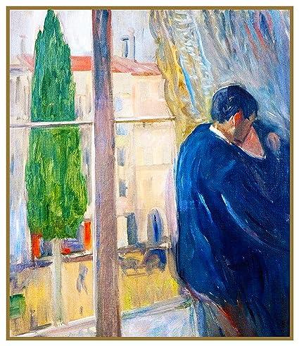 The Scream  by Modern Artist Edvard Munch Counted Cross Stitch Pattern